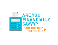 Are you financially savvy? Take our quiz to find out >